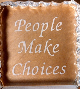 People Make Choices