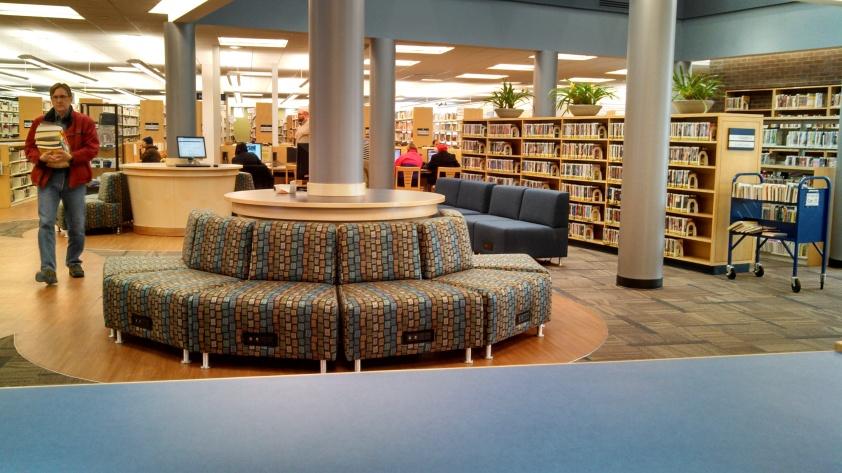 New seating, new flooring.