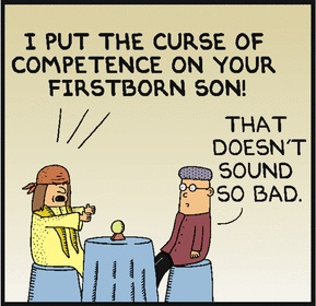 curse of competence